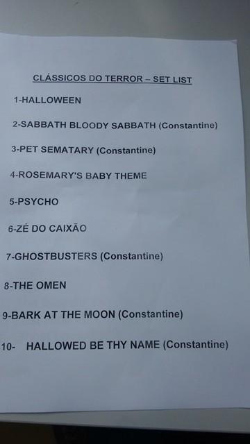 Setlist: Clssicos do Terror (Foto: Divulgao)