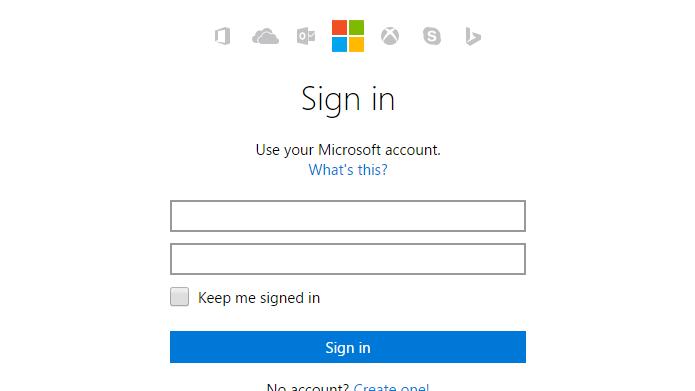 Conta da Microsoft é necessária para baixar Windows (Foto: Reprodução/Microsoft)