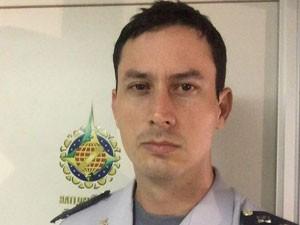 Capitão Michello Bueno, da Polícia Militar do Distrito Federal (Foto: Divulgação)