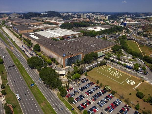 Fábrica da Volkswagen em São Bernardo do Campo (SP) (Foto: Divulgação)