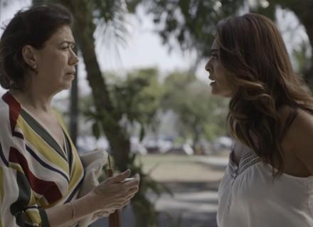 Bibi vai atrás de Silvana: 'Vim pegar o que deixei com você!'