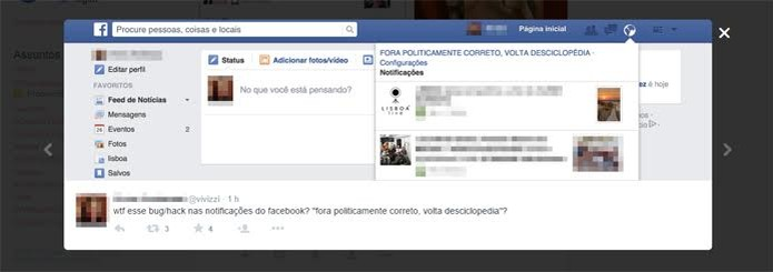 Rede social pode ter sido alvo de ataque (Foto: Reprodução)