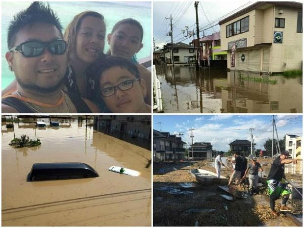 Sakaue conta ter perdido lanchonete e restaurante por causa das chuvas torrenciais  (Foto: Arquivo pessoal)