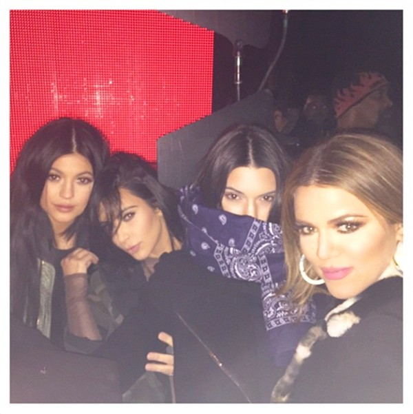 Kim e Khloe Kardashian , e Kendall e Kylie Jenner (Foto: Instagram)