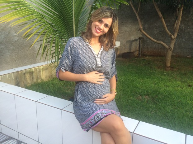 Após perder gêmeos, casal celebra gravidez de quíntuplos: 'Milagre' em Goiás (Foto: Sílvio Túlio/G1)