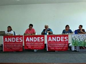 Parte da categoria está em greve há mais de 90 dias  (Foto: Dilvugação/ Adua)