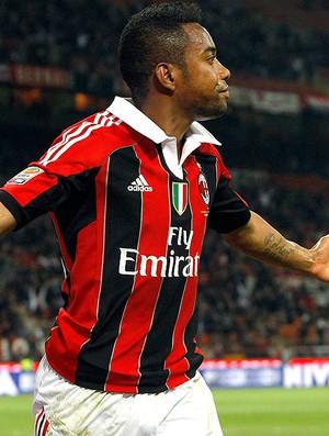 Robinho, Milan x Atalanta (Foto: Reuters)