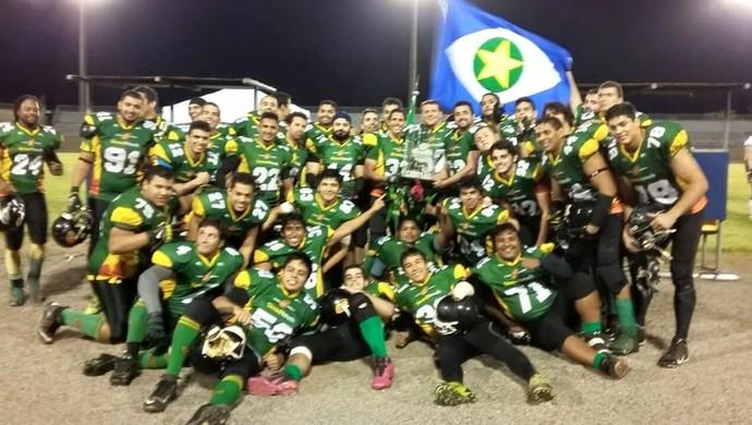 Cuiabá Arsenal conquista o título do Desafio Centro-Oeste (Foto: Reprodução/Facebook Cuiabá Arsenal)