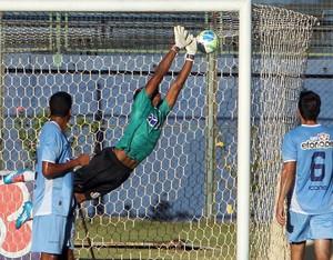 gol de raphael toledo, do tupi no macaé (Foto: Tiago Ferreira / Divulgação)