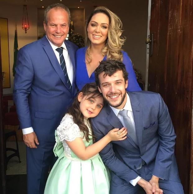 Jayme Monjardim e Tânia no casamento de Jayme Matarazzo  (Foto: Instagram / Reprodução)