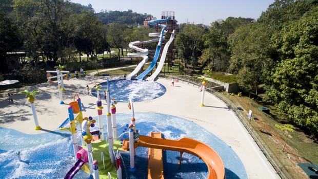 Parque aquático garante a diversão dos visitantes (Foto: Divulgação)