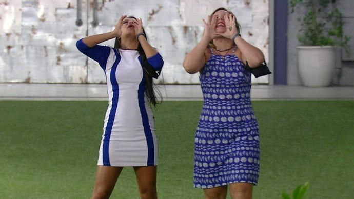 COMEMORAÇÃO FINALISTAS (Foto: TV Globo)