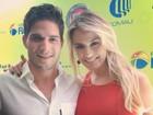Ex-BBBs André e Fernanda participam de em evento em Belo Horizonte
