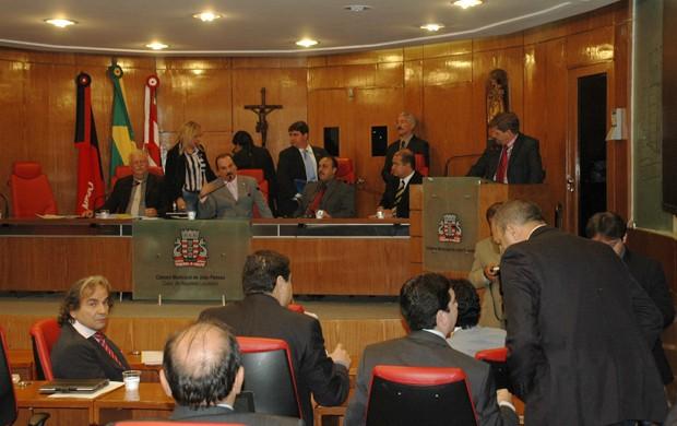 Câmara Municipal de João Pessoa (Foto: Renata Vasconcellos / Globoesporte.com/pb)