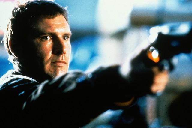 Harrison Ford como Rick Deckard, filme lançado em 1982 (Foto: reprodução)