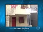 Polícia investiga atos de vandalismo na sede do PT em Belo Horizonte
