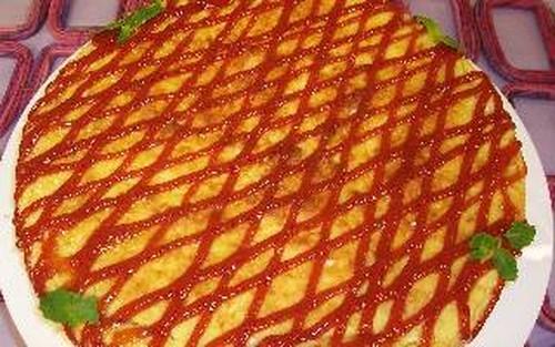 Torta de batata-doce Com Goiabada