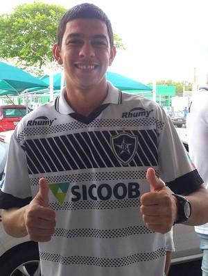 Goleiro Rafael, do Estrela do Norte (Foto: João Brito/GloboEsporte.com)