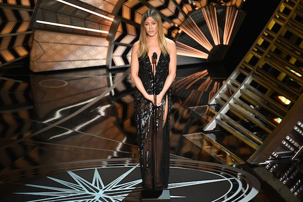 Jennifer Aniston no Oscar 2017 (Foto: Getty Images)