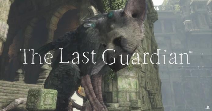 Anunciado em 2009, The Last Guardian deve ser lançado para PS4 em 2016 (Foto: Reprodução/Cássio Barbosa)
