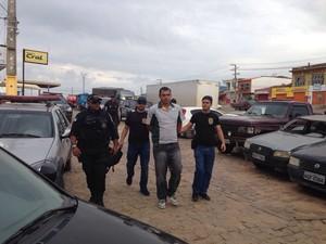 Mandados de prisão da operação Mega Pixel são cumpridos no Sertão de PE (Foto: Divulgação/Polícia Civil)