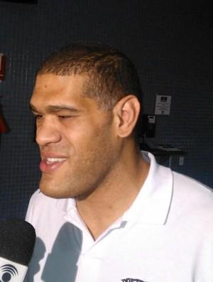 Pezão, Campina Grande, UFC, Ultimate Fighter (Foto: Silas Batista / Globoesporte.com/pb)