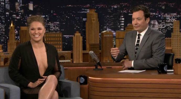 Ronda Rousey Tonight Show Jimmy Fallon