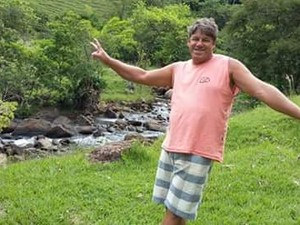Corpo de pescador desaparecido é encontrado (Foto: Reprodução/ TV Gazeta)