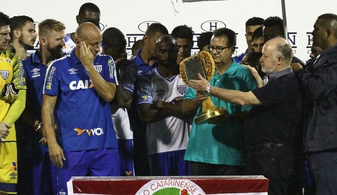 Avaí campeão turno taça (Foto: Jamira Furlani/Avaí F.C.)