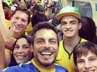 Luigi Baricelli enfrenta metrô lotado em São Paulo para chegar a jogo