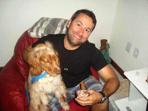 Mossoroense, Luiz Cláudio Nogueira, de 43 anos, é técnico de segurança (Foto: Arquivo da família)