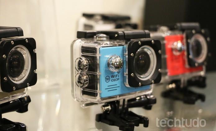 Câmera w9 (Foto: Luciana Maline/TechTudo)