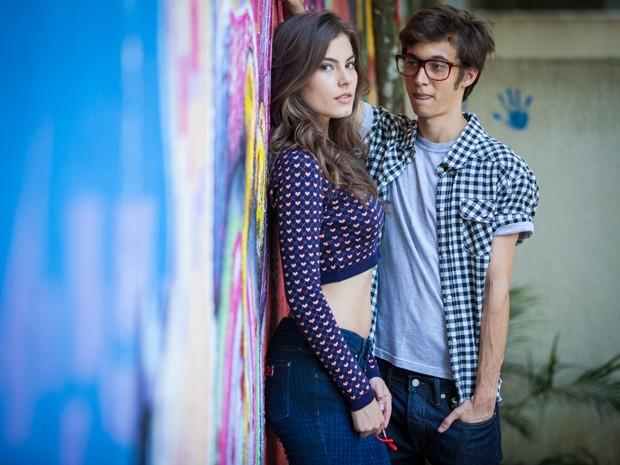Gui Hamacek e Bruna Hamú (Foto: Fabiano Battaglin/Gshow)