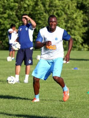 Manoel Cruzeiro treino (Foto: Paulo Lopes / NCSG)