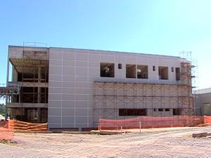 Hospital Municipal de Divinópolis (Foto: TV Integração/Reprodução)