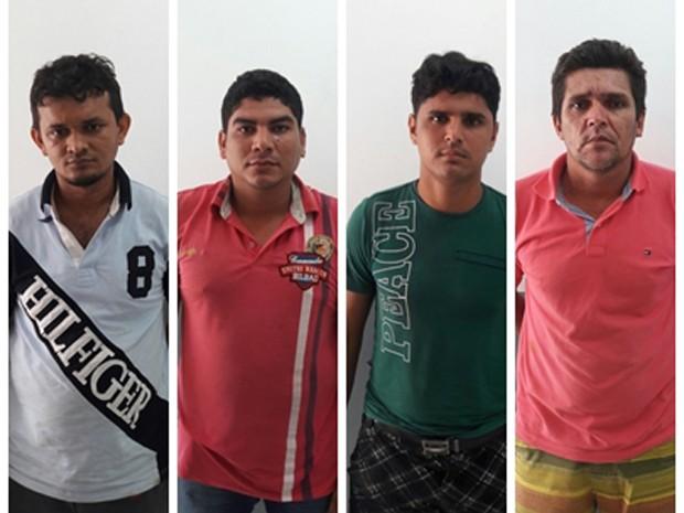 Polícia desarticulou quadrilha nos municípios de Santa Inês e Alto Alegre do Maranhão  (Foto: Divulgação/Seic)