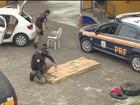 Motoristas são presos com ecstasy em cueca e 375 kg de maconha