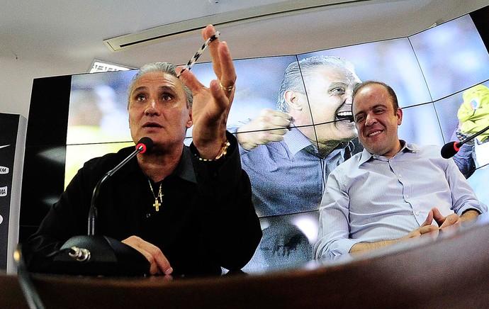 Apresentação Tite Corinthians (Foto: Marcos Ribolli)