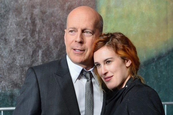 Bruce e Rumer Willis (Foto: Getty Images)