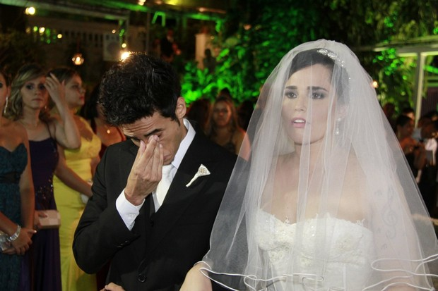 Casamento da Perlla (Foto: Isac Luz / EGO)