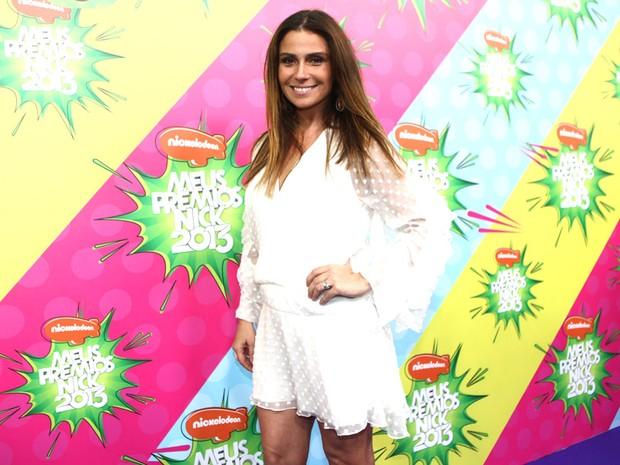 Giovanna Antonelli no Prêmio Nick (Foto: Iwi Onodera / EGO)
