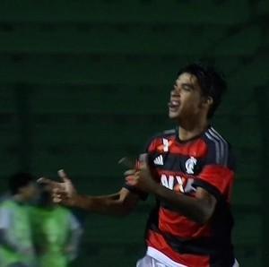 Lucas Paquetá; Flamengo x RB Brasil; Copinha (Foto: Reprodução)