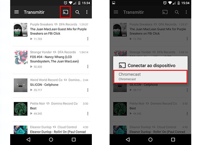 Conecte o Soundcloud ao seu Chromecast (Foto: Reprodução/Paulo Alves)