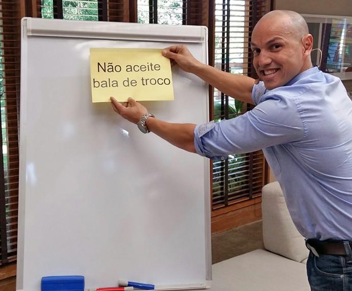 Fly deu dicas de economia no É de Casa (Foto: Ivo Madoglio)