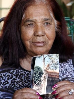 Dona Elizete cuidou de animal durante 37 anos em São Carlos (Foto: Fabio Rodrigues/G1)