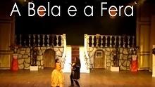 O espetáculo infantil 'A Bela e a Fera' tem apoio da TV Liberal (Reprodução / TV Liberal)