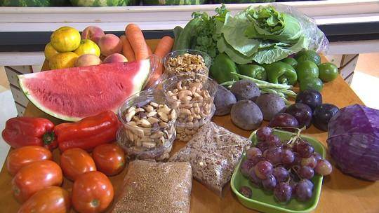 As cores também têm a sua importância na nossa alimentação