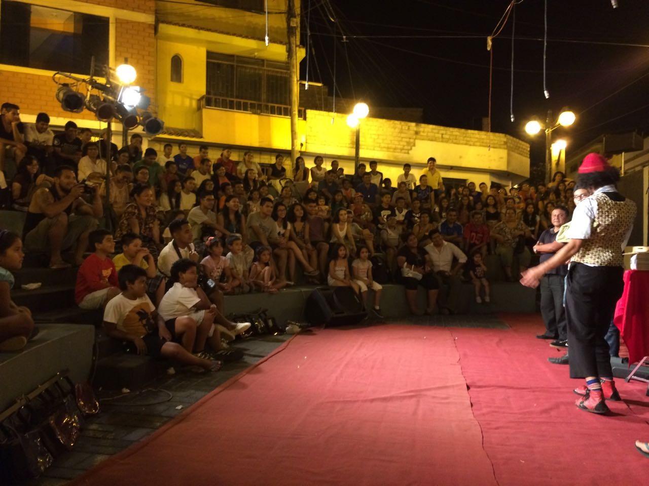 Palhaço Ritalino leva arte londrinense ao Peru