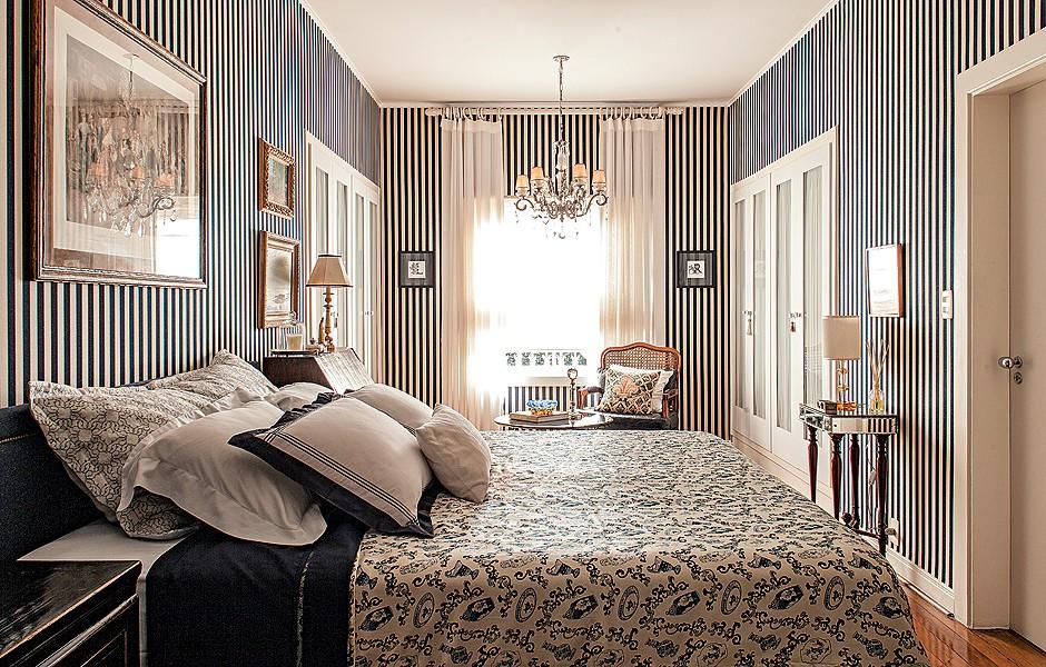 decoracao de interiores quartos femininos:Tecido na decoração – Casa e Jardim