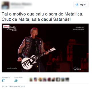 Memes da segunda noite do Rock in Rio (Foto: Twitter / Reprodução)